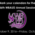 Mark your calendars for the Wateree Baptist Association Upper Division (WBAUD) 136th Annual Session, October 9-14, 2016. Host Church: New Light Beulah Baptist Church. More details will follow…