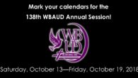 Mark your calendars for the Wateree Baptist Association Upper Division (WBAUD) 138th Annual Session, October 14-19, 2018! Host Church: Zion Mill Creek Baptist Church, 97 Mill Creek Parkway, Columbia, SC […]